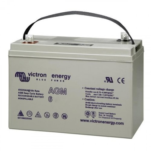 12V/100Ah AGM Super Cycle Batt. (M8)
