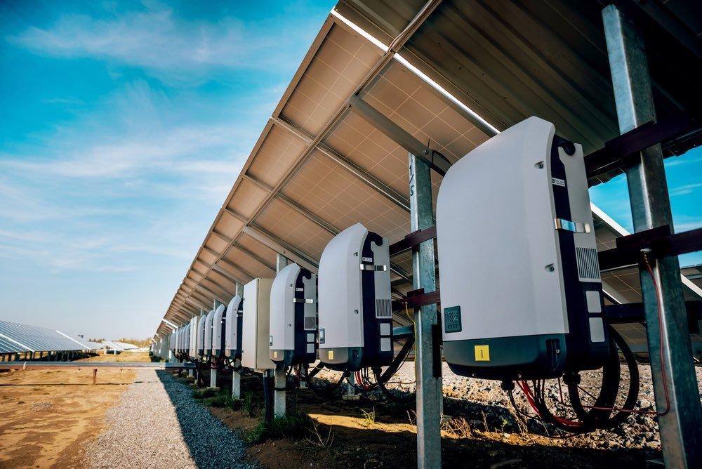 inversor en cadena para instalaciones. fotovoltaicas