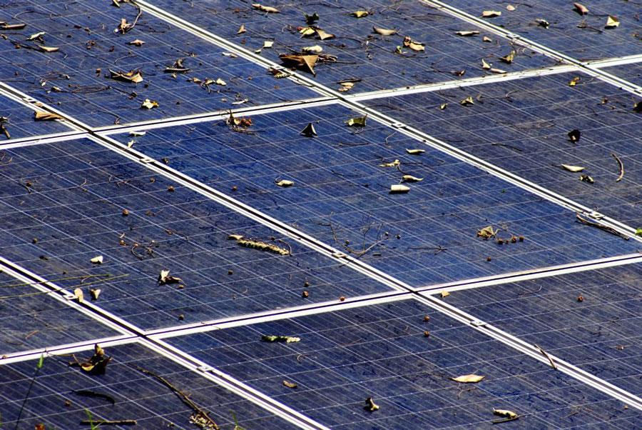 ¿Qué sucede si no se les da el mantenimiento apropiado a las placas solares?