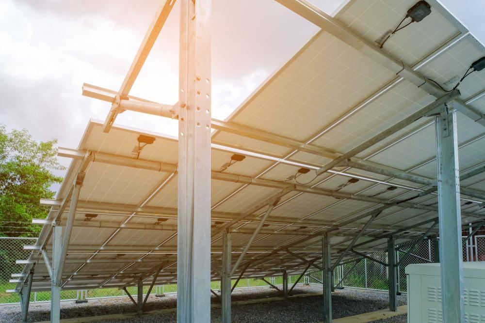 Estructura paneles solares para el autoconsumo fotovoltaico
